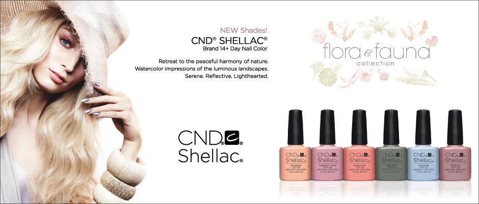 Nail Salon Bangkok CND Shellac Flora & Fauna